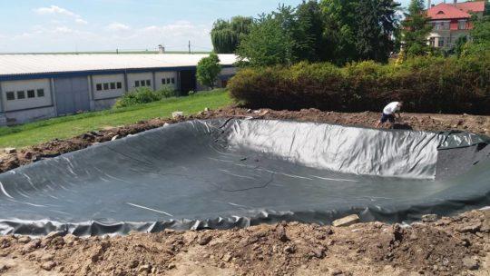 Hydroizolace vodní plochy