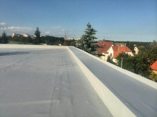 Hydroizolace, tepelná izolace střechy RD Praha Kyje
