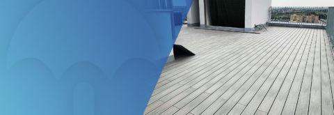 Hydroizolace teras a balkónů
