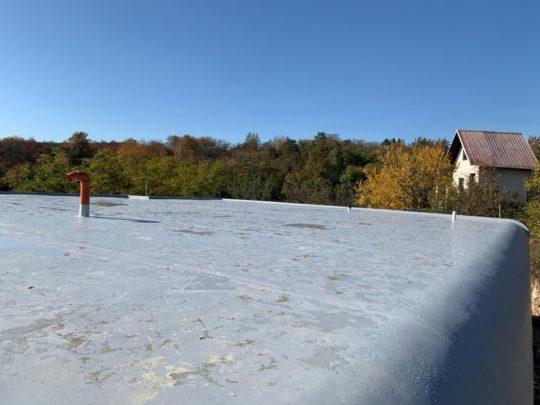 Izolace střechy RD Kralupy nad Vltavou